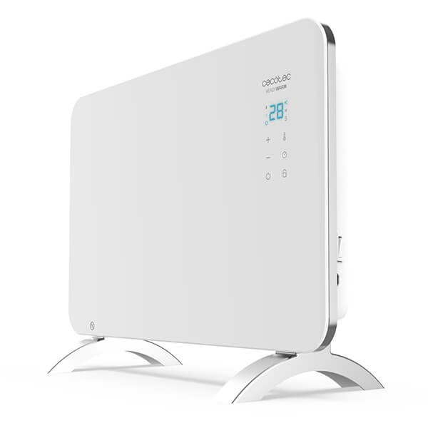 Konvekční elektrické topidlo Cecotec Ready Warm 6700 Crystal Connection 1500W WIFI Bílý