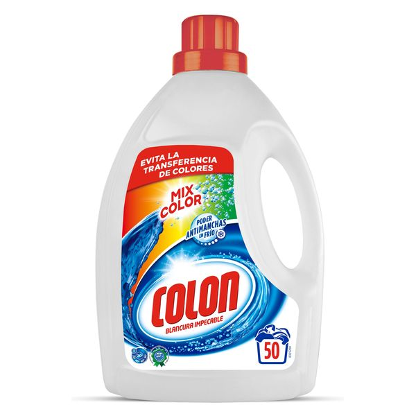 Colon Mixcolor Liquid Detergent, 3.1 L (50 Washes)