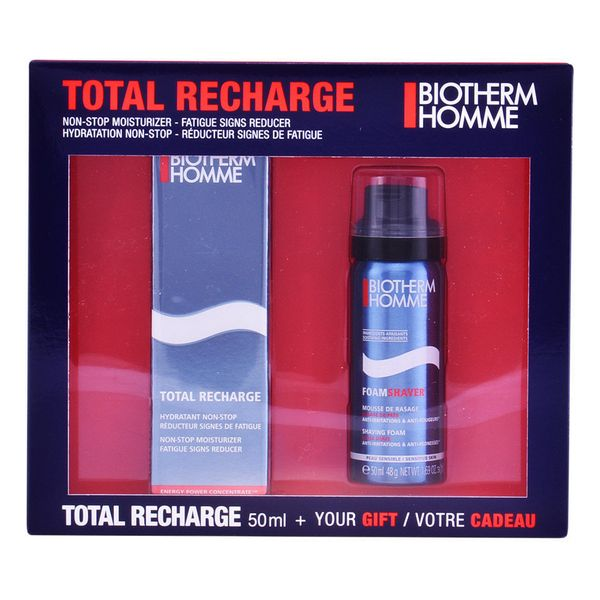 Set na holení Homme Total Recharge Biotherm (2 pcs)