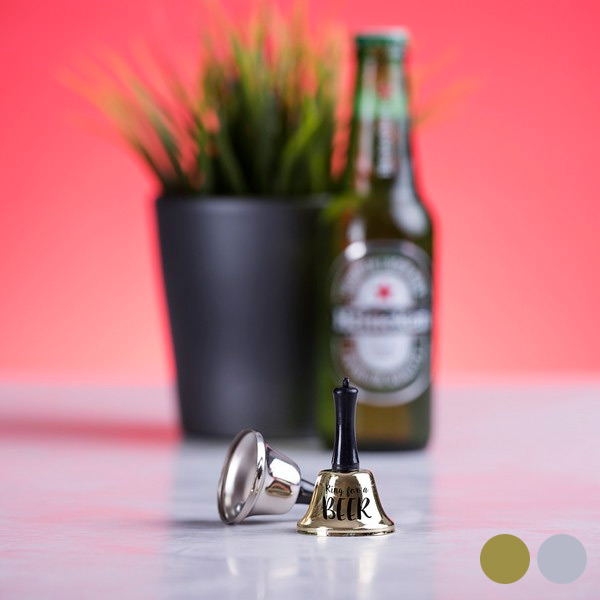 Campanilla Ring For A Beer 145937 - Stříbřitý